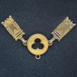 Medieval female belt strapend, Germany ex77-ep11