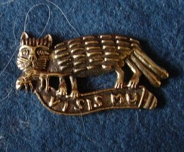 "M49 ""Two-tailed cat"" Badge"