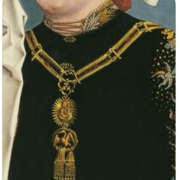 Medaillon of Our Lady from the Order of the Swan collar