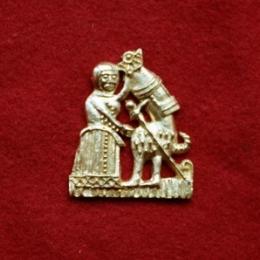 m62 Medieval carnival badge