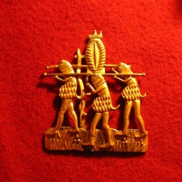 M21 Medieval carnival badge