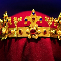St. Margaret's burial crown, 13th century