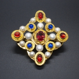Medieval Brooch from the Colmar Treasure ea55