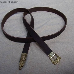Scandinavian leather belt RBS02