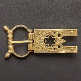 Medieval buckle with mount, Germany EK65