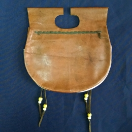 LL08  Medieval Leather Pouch