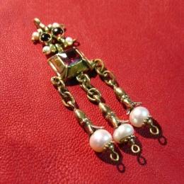 Medieval brooch-pendant, France EA16