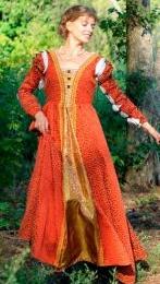 Italian Renaissance Lucretia Borgia Gown