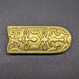 Medieval belt strapend from Hungary RH01