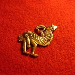 M27 Medieval carnival badge