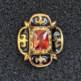 Button from the portrait of King Henry IV of France