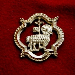 "m59 ""Lamb""  Medieval piligrim badge"