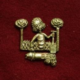m70 Medieval carnival badge