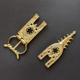 Cast belt set, Germany, 15th cent.